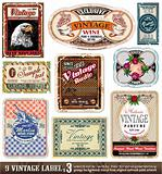 Vintage Labels Collection - Set 3