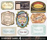 Vintage Labels Collection - Set 4