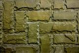 Vintage wall of clinker stone