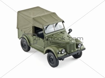 old military car