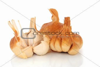 Smoked Garlic Cloves