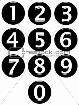 3D Framed Numbers