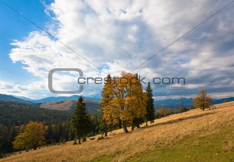 Autumn in mountain
