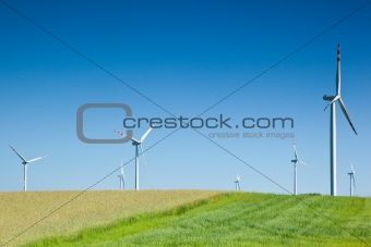 group of wind
