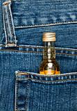 Bottle in a pocket