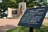 lincoln address memorial