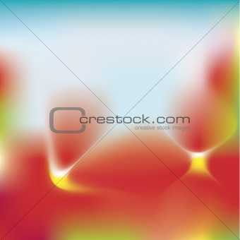 Abstract Floral Background Cmyk