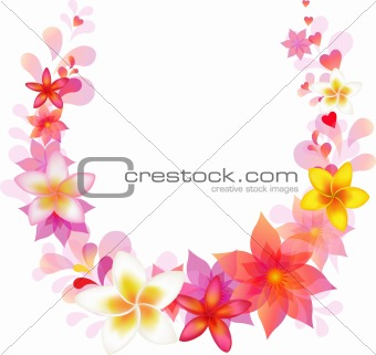 Floral Vector Wreath