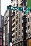 Love Corner Street Signs