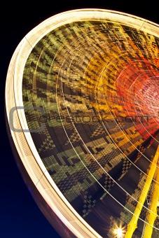 ferris wheel by night