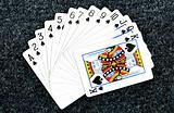 Poker card;Spade