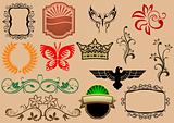 Heraldic elements