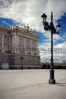 Palace Real de Madrid, Spain