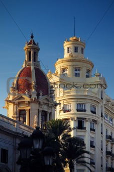 City  scape of Valencia, Spain