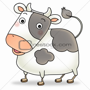 12 chinese new year icon 02 - cow