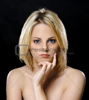 Blond babe