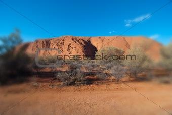 Lights of Ayers Rock, Australia