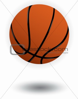 Basketball vector illustration.