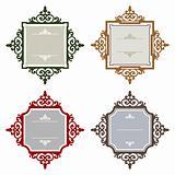 Retro styled frames