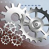 Vector mechanical background