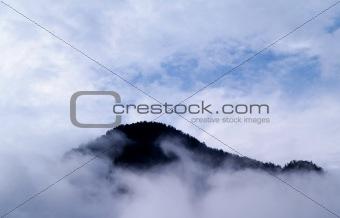 Fog mountain