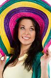 the sombrero colored