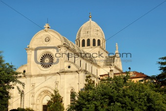 Cathedral of St Jacob in Sibenik, Croatia
