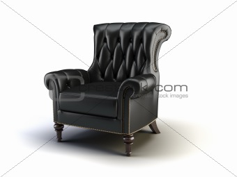 black classic chair