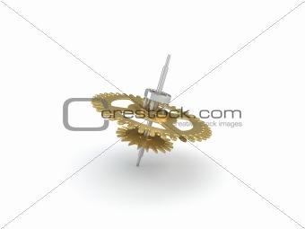 3d cogwheel