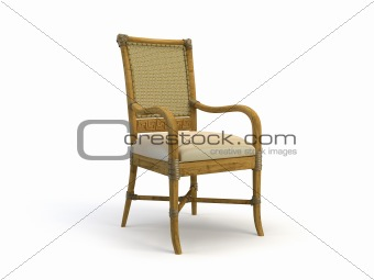 classic 3d chair