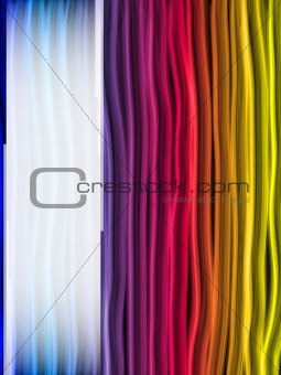Abstract Rainbow Lines Background