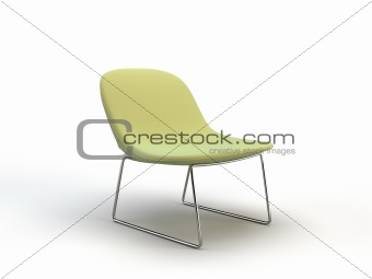 green modern chair