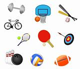 Sport symbols