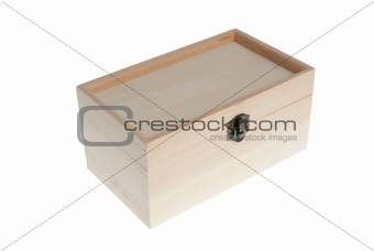 Small Wooden jewell box closed