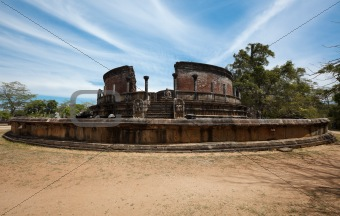 Ancient Vatadage (Buddhist stupa)