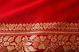 Indian sari close up