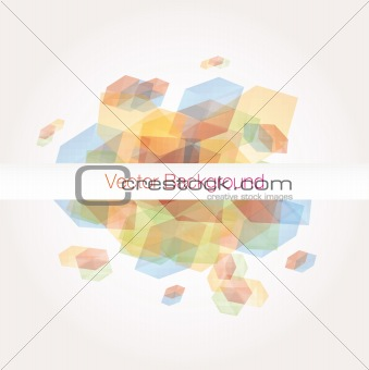 Background abstract. Vector.