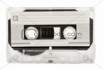 Audio cassette (tape) isolated