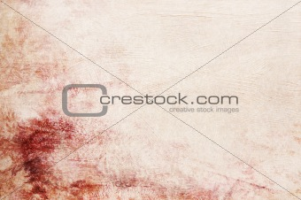 Textured red pink beige background with space for text or image - scrapbooking