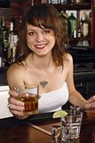 Gorgeous bartender