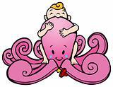 Octopus Baby Girl