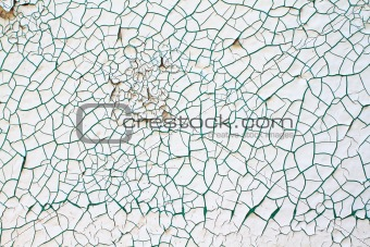 Abstract Grunge Cracked Paint Background