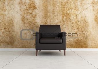 grunge brown interior