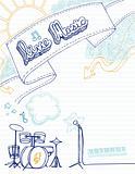 Live Music Doodle