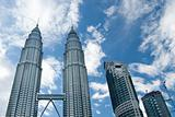 Petronas Twin Towers daylight