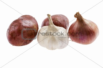potato with onion