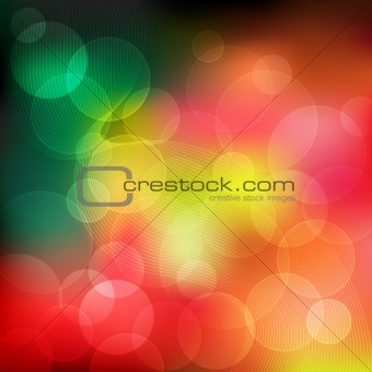 Abstract background assorted colors