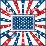 American flag background stars and stripes