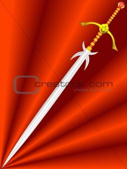 knightly sword