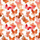 Seamless butterfly pattern